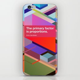 Proportions iPhone Skin