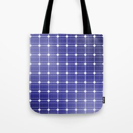 In charge / 3D render of solar panel texture Tote Bag