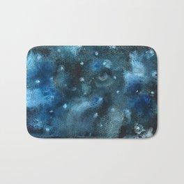 Watercolor: Intergalactic Owl Bath Mat