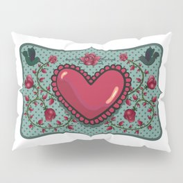 love and roses Pillow Sham