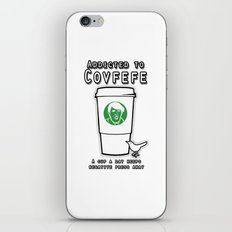 Addicted to Covfefe iPhone & iPod Skin