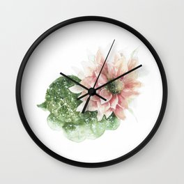 Stars and Stripes cactus Wall Clock