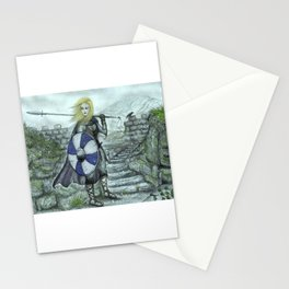 The Shieldmaiden Stationery Cards