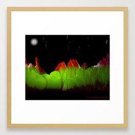 Abstract Desert Night Framed Art Print