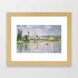Vetheuil in Summer 1880 by Claude Monet Framed Art Print