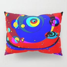 A Space Journey within the Stars and Mars Pillow Sham