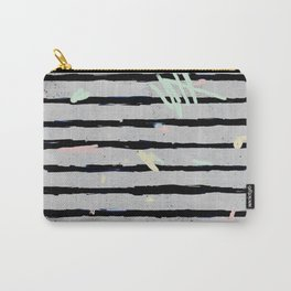 Whimsical Stripes Carry-All Pouch