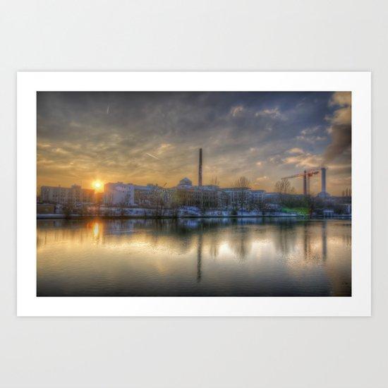 Eisfabrik Berlin Art Print