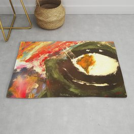 Bomb Suit Visions Rug