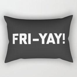 Fri-Yay! Funny Quote Rectangular Pillow