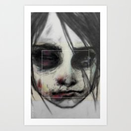 Survive (the Girl 04) Art Print
