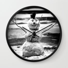 HERE FOR NOW Wall Clock