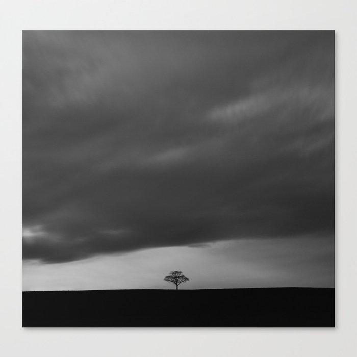 Alone on the Ridge Canvas Print