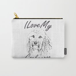 I Love My Cockerpoo Carry-All Pouch