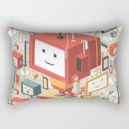 Multi Identity Rectangular Pillow