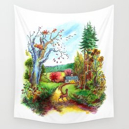 A Deer Wall Tapestry