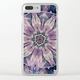 Bloom, Grow, Blossom Clear iPhone Case