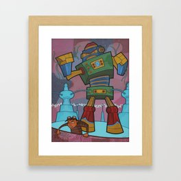Another One Gone Wrong Framed Art Print