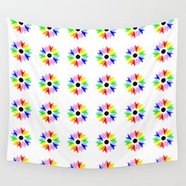 symmetric patterns 115 multicolor Wall Tapestry