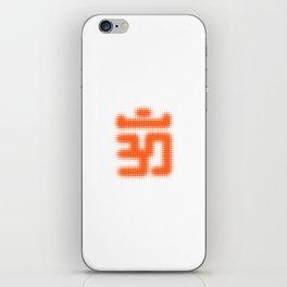 Aum Orange iPhone Skin
