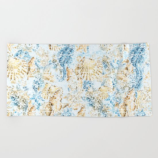 Sea & Ocean #9 Beach Towel