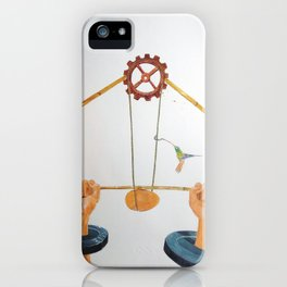 The vulnerable part of mechanisms iPhone Case
