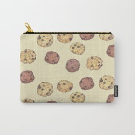 cookies_pattern_light yellow Carry-All Pouch