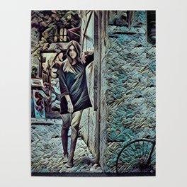 Un Petit Village Français Poster