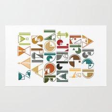 geometric alphabet v1 Rug