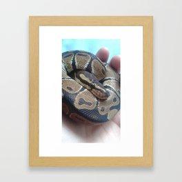 I am my own pillow Framed Art Print