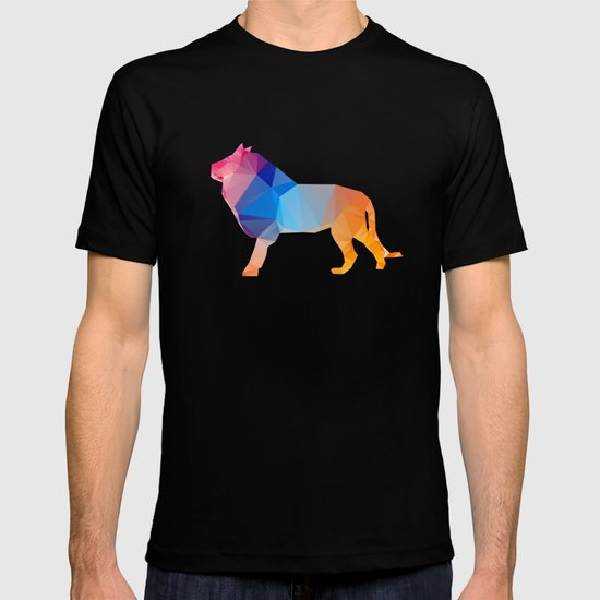 Glass Animal Series - Lion T-shirt