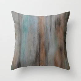 Classic Streams of Color Throw Pillow