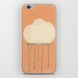 let it rain iPhone Skin