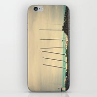 boats iPhone & iPod Skins featuring Boats by Kiera Wilson
