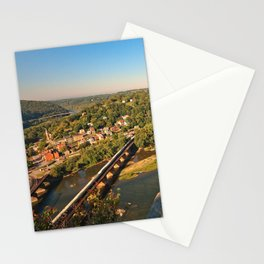 Harpers Ferry & Potomac River Overlook Stationery Cards