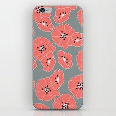 Retro bloom 002 iPhone & iPod Skin