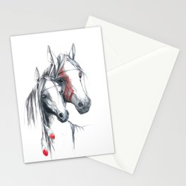 Indian Horses Stationery Cards