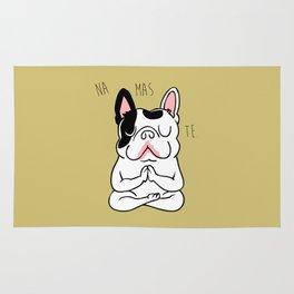 Namaste French Bulldog Rug