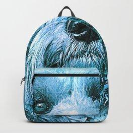 The Blue Dog Backpack