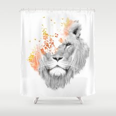 If I roar (The King Lion) Shower Curtain