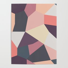 Fragments Pattern Poster