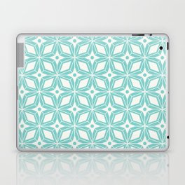 Starburst - Aqua Laptop & iPad Skin