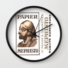 MEPHISTO rolling papers Wall Clock