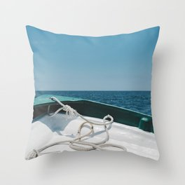Beyond the Sea Throw Pillow