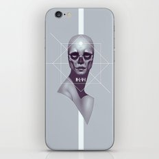 Skull -NLVI- iPhone & iPod Skin