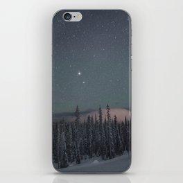 Big White Stars V iPhone Skin