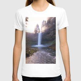 Sun Star Over South Falls T-shirt