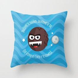El Coco illustration Throw Pillow