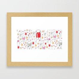 Patt Framed Art Print