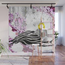 Beloved Zebra Wall Mural
